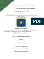 PROYECTO DE COTSOS DE PRODUCCION BENITA CUBA Y DIANA SEVILLANO