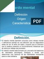 RETARDO MENTAL Generalidades