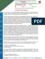 FICHA DE LECTURA N° 03 - PRIMER SEMESTRE  2020-I