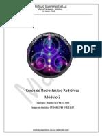 Curso de Radiestesia e Radionica Modulo 3