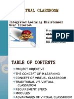 THE VIRTUAL CLASSROOM SYSTEM