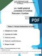 Audit Général-thème 1