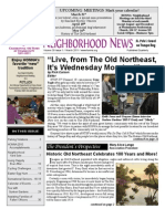 Historic Old Northeast Newsletter March 2011