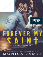 3. Forever My Saint - All Th Pretty Things #3 - Monica James