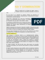 DICIPLINA - DOMINACION (introducción)