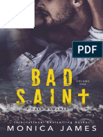 1. Bad Saint - All the Pretty Things #1 - Monica James (1)