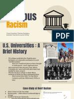 campus racism