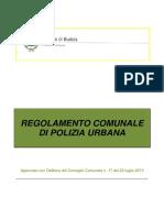 Budoia Reg Polizia Urbana