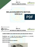 Relacionamento motor-veículo