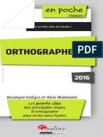 Orthographe 2016
