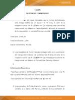 Taller Liquidacion de Derivados Financieros Laboratorio