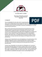 Black Clergy Framework for Violence Elimination