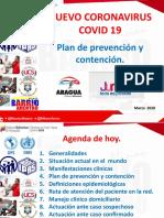 PLAN PREVENCIÓN Y CONTENCIÓN ARAGUA COVID-19 MARZO 2020