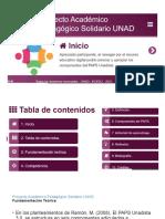 OVA PAPS_Proyecto Académico Pedagógico Solidario UNAD_Unida I