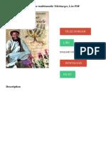 La Pharmacopée Marocaine Traditionnelle Télécharger, Lire PDF TÉLÉCHARGER LIRE ENGLISH VERSION DOWNLOAD READ. Description