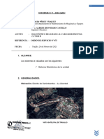 INF. DIAGNOSTICO DEL CARGADOR FRONTAL 950 H