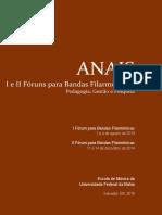 Anais I e II Fóruns Filarmônica