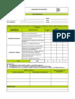 Formato de evaluación Monitores