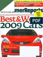 Consumer Reports April 2009