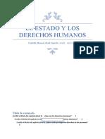 El Estado y los Derechos Humanos