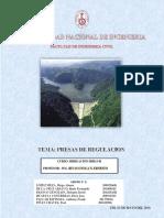 irrigacion presas de regulacion