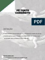 17. PÉ TORTO CONGÊNITO