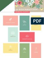 Calendario de Adviento de Pascua Color ConexionSUD