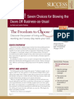 Booms Even Choices Summary