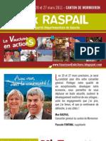Notre Projet Pour Le Canton - Max Raspail