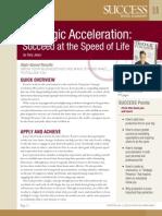 Strategic Acceleration Summary