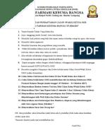 Doc 9 PERSYARATAN PENDAFTARAN CALON KETUA OSIS