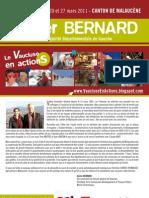 Notre Projet Pour Le Canton - Xavier Bernard