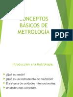Clase 2 Conceptos Basicos de Metrologia