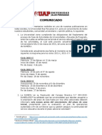 COMUNICADO OFICIAL UAP - 19.02.21