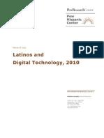 Latinos and Digital Technology