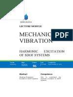 06 Harmonic Excitation of SDOF Systems