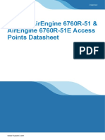 Huawei AirEngine 6760R-51 & AirEngine 6760R-51E Access Points Datasheet