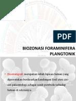 BIOZONASI FORAminiFERA PLANGTONIK