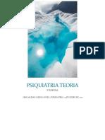 PSIQUIATRIA TEORIA