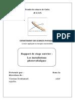 Rapport de Stage GPC - Produit Final