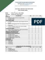 Form Evaluasi Non Klinis