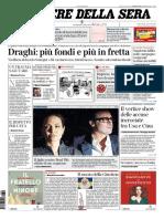 Corriere Della Sera 20 Marzo 2021