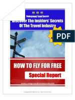 UTS - Bonus 0 - Special Report - How To Fly For Free