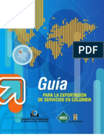 guia exportacion de servicios