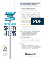 Social Media Safety for Teens