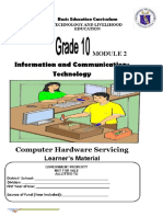 TLE-ICT-Computer-Hardware-Servicing-LM Module 3RD QUARTER