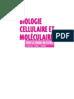 biologie cellulaire et moleculaire