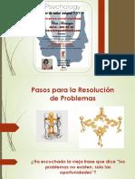 Pasos Para La Resolución de Problemas