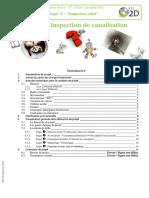 Robot d'inspection de canalisation