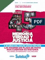 CUADERNILLO DDHH 24M 45 AÑOS - Secundario